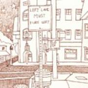 Kennett Square State And Union Art Print