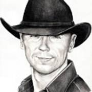 Kenny Chesney Art Print