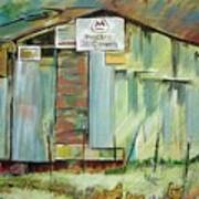 Kenny's Barn Art Print