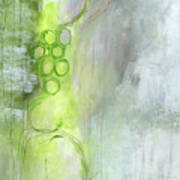 Kensho- Abstract Art By Linda Woods Art Print