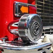 Kensington Fire District Fire Engine Siren . 7d15879 Art Print
