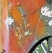 Kensington Market Floral Detail Art Print