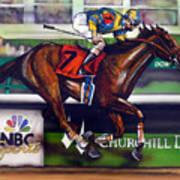 Kentucky Derby Winner Street Sense Art Print by Dave Olsen