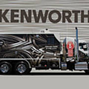 Kenworth Proudly Made In The Usa Art Print