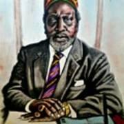 Kenyatta  Art Print