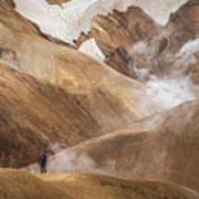 Kerlingafjoll Mountain Art Print