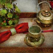Kettle - Formal Tea Ceremony Art Print