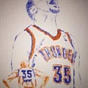 Kevin Durant Art Print
