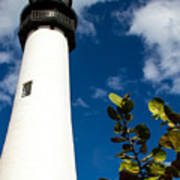 Key Biscayne Lighthouse, Florida Art Print