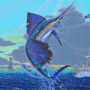 Key Sail Off0040 Art Print