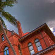Key West Customs House Art Print