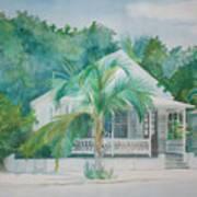 Key  West House Art Print