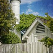 Key West Lighthouse Dsc01547_16 Art Print