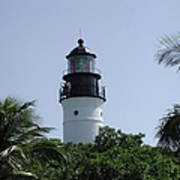 Key West Lighthouse Art Print