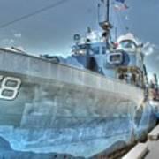 Key West Navy Ship Art Print