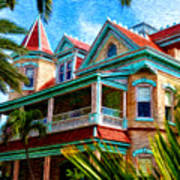 Key West Southern Most Hotel Art Print by Bill Cannon