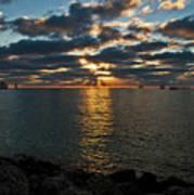 Key West Sunset 10 Art Print