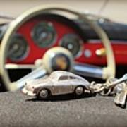 Keys To The Porsche Art Print