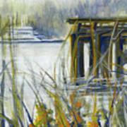 Keystone Port Townsend Ferry Art Print