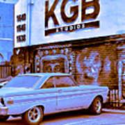 K G B Studios Los Angeles Art Print