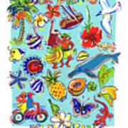 Kia Orana Cook Islands Art Print