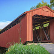 Kidwell Covered Bridge Art Print