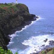 Kilauea Lighthouse And Bird Sanctuary Art Print