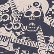 Kill The Music Industry Art Print