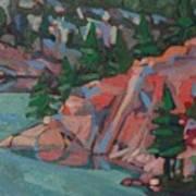Killarney George Lake Sentinel Art Print
