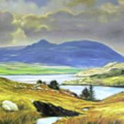 Killary Harbour County Mayo Art Print