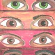Killer Eyes Art Print
