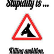 Killing Bigstock Donkey 171252860 Art Print