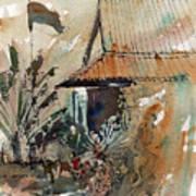 Killing Fields Museum Cambodia  Art Print