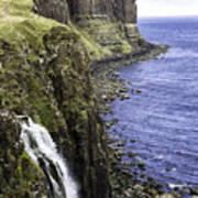 Kilt Rock On The Isle Of Skye Art Print