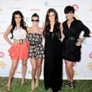 Kim Kardashian, Kourtney Kardashian Art Print by Everett