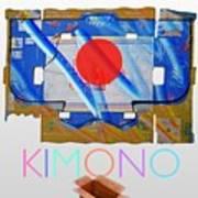 Kimono Poster Art Print
