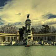 King Alfonso Monument  Art Print