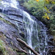 King Creek Falls Oconee County Sc Art Print by Lane Owen