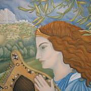 King David In His Youth Art Print