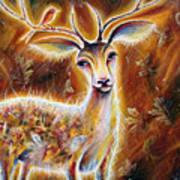 King-deer Art Print