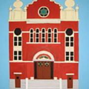 King Edward Street Shul Art Print
