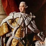 King George IIi Art Print by Allan Ramsay