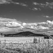 King Homestead_bw-1593 Art Print