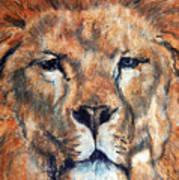 King Lion Art Print