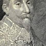 King Of Sweden Art Print