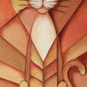 King Of The Cats Print by Jutta Maria Pusl