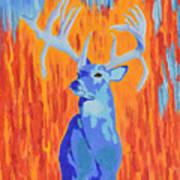 King Of The Fall Art Print