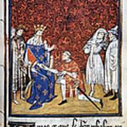 King Philip Iv Of France Art Print