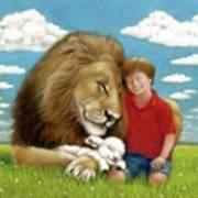Kingdom Friends Art Print