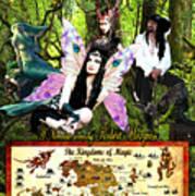 Kingdoms Of Magic Fairy Poster Art Print